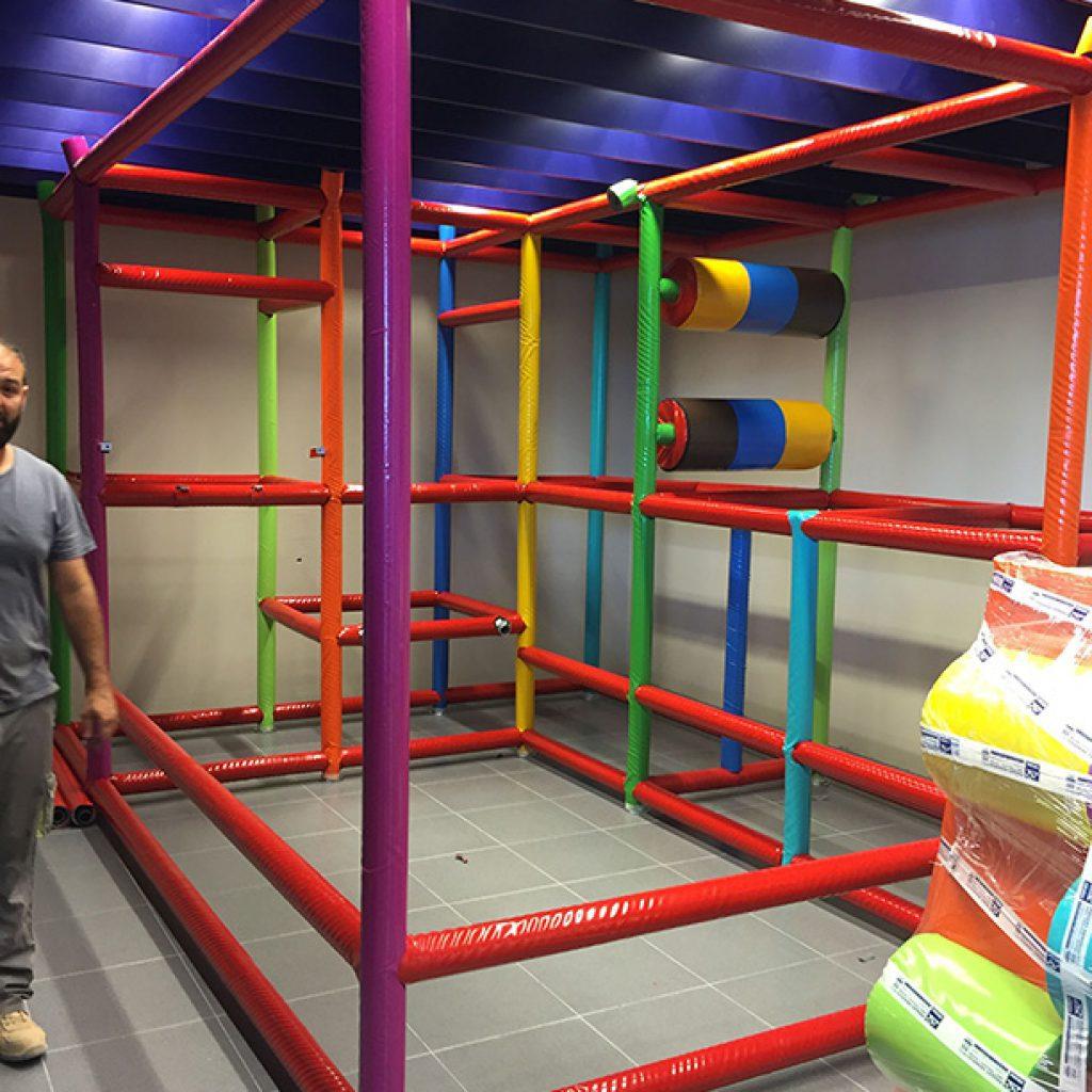 fabricacion de parques de bolas infantiles
