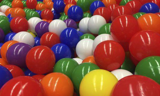 limpieza de parques de bolas